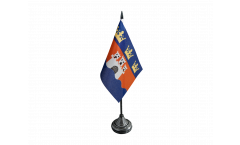 Tischflagge Schweden Provinz Jönköpings län - 10 x 15 cm