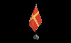 Tischflagge Schweden Schonen Skane