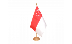 Tischflagge Singapur