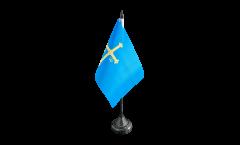 Tischflagge Spanien Asturien - 10 x 15 cm