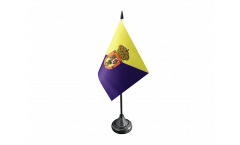 Tischflagge Spanien Gran Canaria