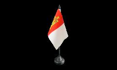 Tischflagge Spanien Kastilien-La Mancha