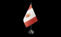 Tischflagge Spanien La Gomera