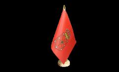 Tischflagge Spanien Navarra