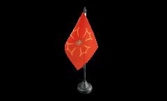 Tischflagge Spanien Val d'Aran - 10 x 15 cm