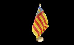 Tischflagge Spanien Valencia