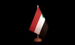 Tischflagge Sudan