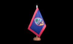 Tischflagge USA Guam