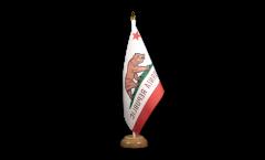 Tischflagge USA Kalifornien