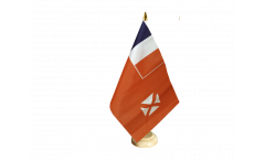Tischflagge Wallis und Futuna