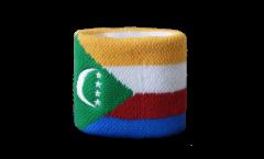 Schweißband Komoren - 7 x 8 cm